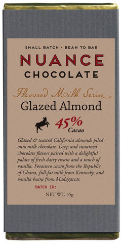 Glazed Almond Milk