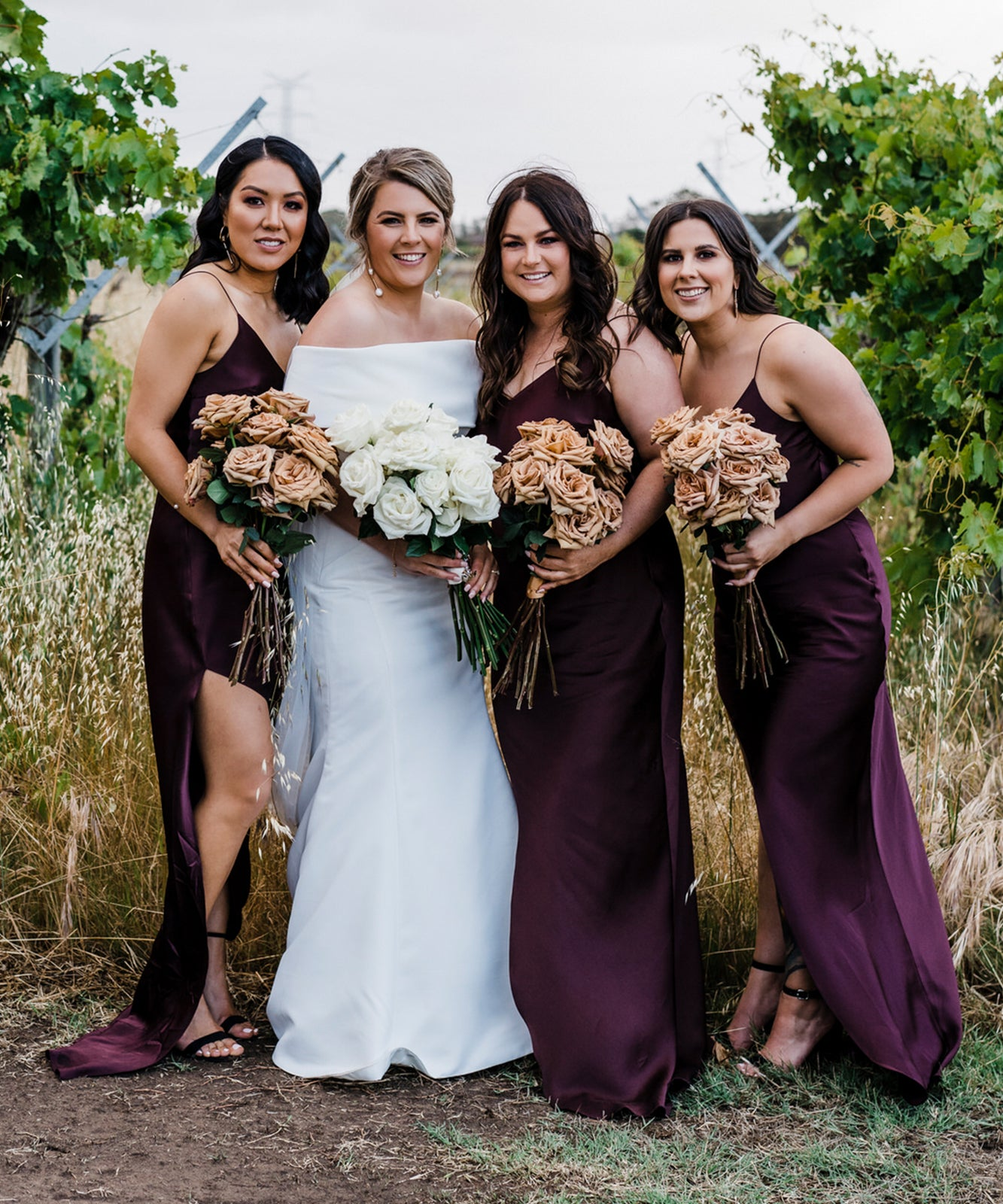 custom made bridesmaid dresses silk