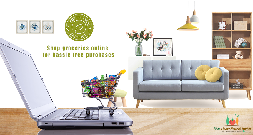 Shop Groceries Online for Hassle Free Purchases