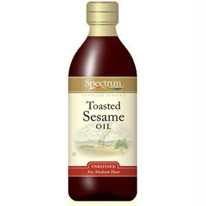 Spectrum Naturals Toasted Unrefined Sesame Oil ( 6x8 Oz) - Rhea Manor Natural Market