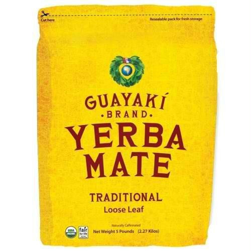 Guayaki Traditional Loose Tea (1x5 Lb) - Rhea Manor Natural Market