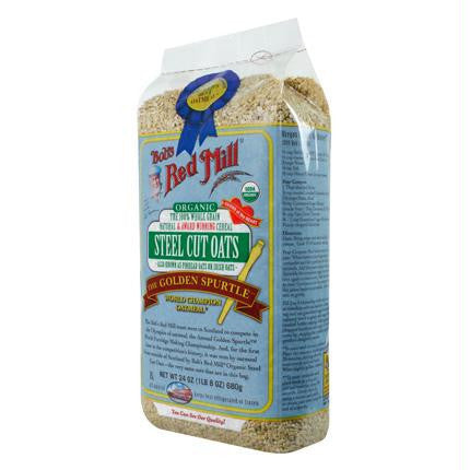 Bob's Red Mill Natural Steel Cut Oats (4x24 Oz) - Rhea Manor Natural Market