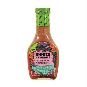 Annie's Naturals Raspberry Vinaigrette Low Fat (6x8 Oz) - Rhea Manor Natural Market