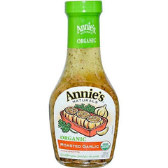 Annie's Naturals Roasted Garlic Vinaigrette (6x8 Oz) - Rhea Manor Natural Market