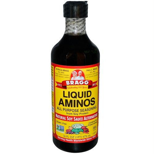 Bragg Liquid Aminos (12x32 Oz) - Rhea Manor Natural Market