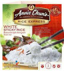 Annie Chun's Rice Express Sticky White Rice (6x7.4 Oz) - Rhea Manor Natural Market