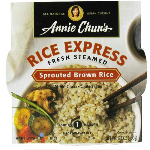 Annie Chun's Rice Express Sprouted Brown Rice (6x6.3 Oz) - Rhea Manor Natural Market