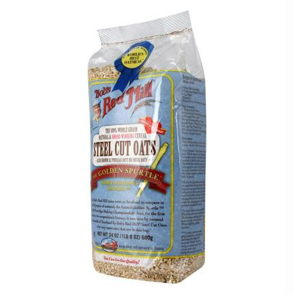 Bob's Red Mill Steel Cut Oats (4x24 Oz) - Rhea Manor Natural Market