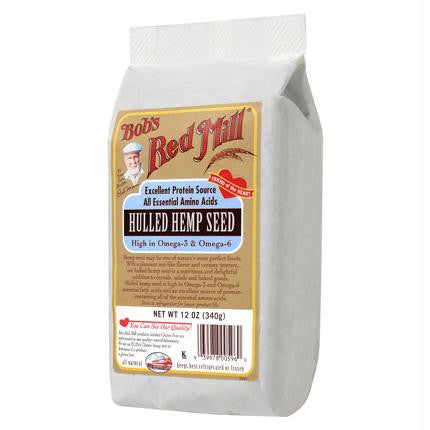Bob's Hemp Seed Hulled ( 4x12 Oz) - Rhea Manor Natural Market