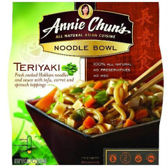 Annie Chun's Teriyaki Noodle Bowl (6x8.2 Oz) - Rhea Manor Natural Market