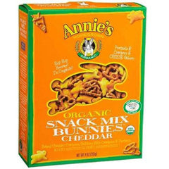 Annie's Homegrown Bunnies Cheddar Snack Mix (12x9 Oz) - Rhea Manor Natural Market