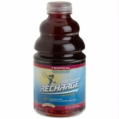 Knudsen Tropical Recharge Pet (12x32 Oz)