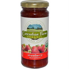 Cascadian Farms Strawberry Fruit Spread (6x10 Oz) - Rhea Manor Natural Market