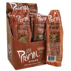 Primal Teriyaki Meatless Jerky (24x1 Oz) - Rhea Manor Natural Market