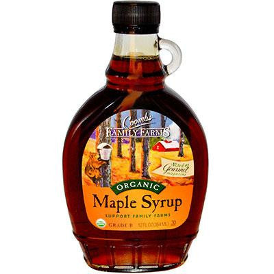 Coombs Family Farms Grade B Maple Syrup Glass (12x8 Oz) - Rhea Manor Natural Market