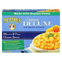 Annie's Deluxe Elbows & 4 Cheese Sauce (12x10 Oz) - Rhea Manor Natural Market