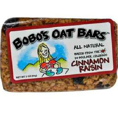 Bobo's Oat Bars All Natural Cinnamon Raisin Oat Bar (12x3 Oz) - Rhea Manor Natural Market