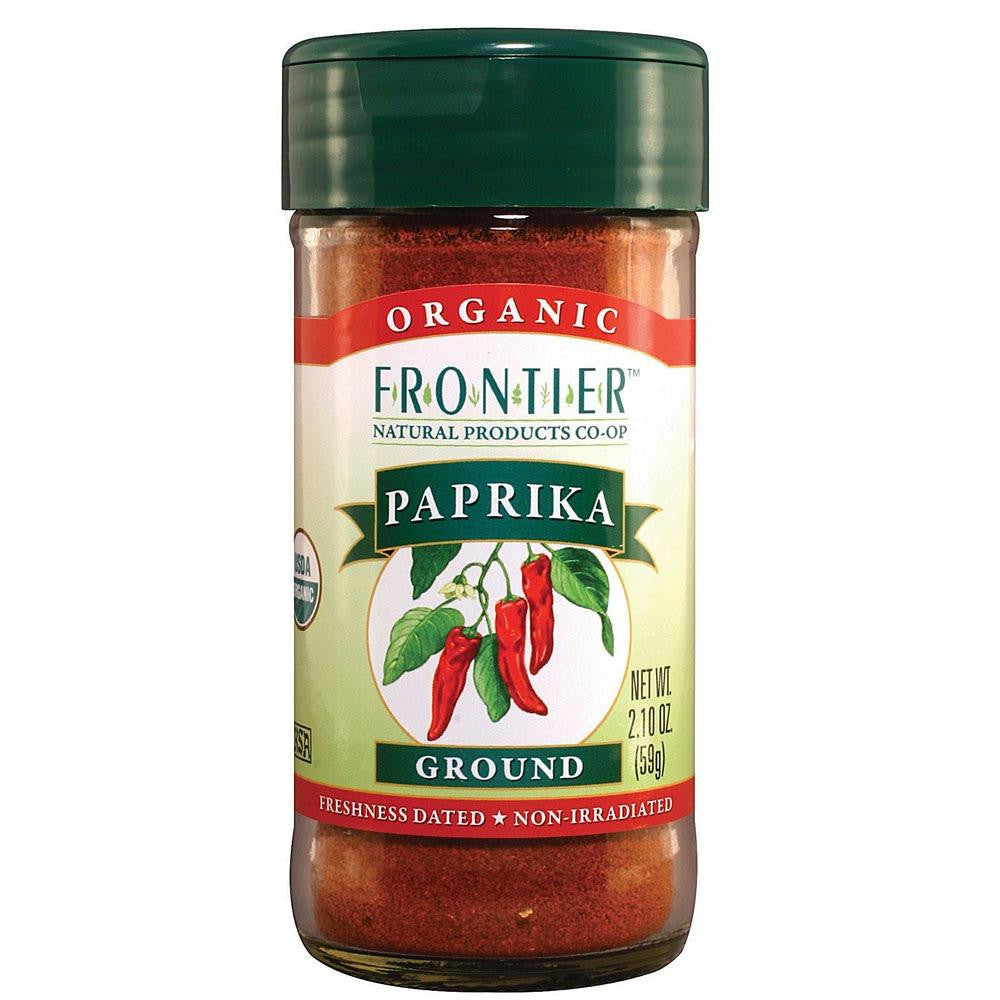 Frontier Herb Ground Paprika (1x1lb) - Rhea Manor Natural Market