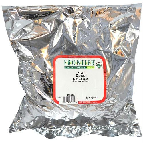 Frontier Herb Whole Cloves (1x1lb) - Rhea Manor Natural Market