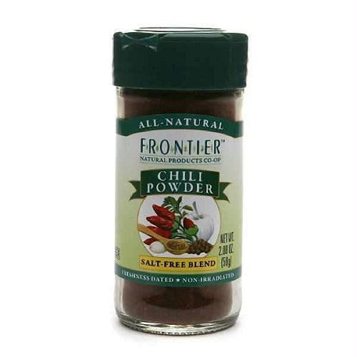Frontier Herb Chili Powder No Salt (1x2.08 Oz) - Rhea Manor Natural Market