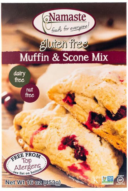 Namaste Muffin And Scone Mix ( 6x16 Oz) - Rhea Manor Natural Market
