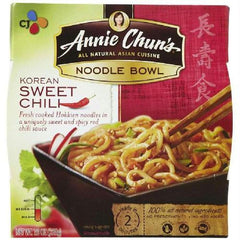Annie Chun's Korean Sweet Chili Noodle Bowl (6x8.4 Oz) - Rhea Manor Natural Market