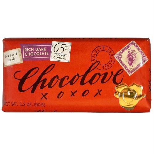 Chocolove Rich Dark Chocolate Bar (12x3.2 Oz) - Rhea Manor Natural Market
