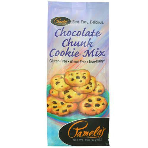 Pamela's Products Choc Chunk Cookie Mix Gluten Free ( 6x13.6 Oz) - Rhea Manor Natural Market