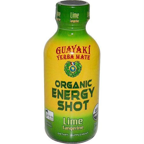 Guayaki Lime Tangerine Energy Shot (12x2 Oz)