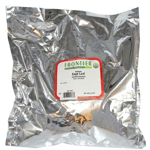 Frontier Herb Rubbed Sage Leaf (1x1lb) - Rhea Manor Natural Market