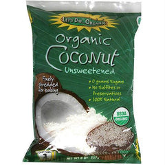 Let's Do...organics Shredded Coconut ( 12x8 Oz) - Rhea Manor Natural Market
