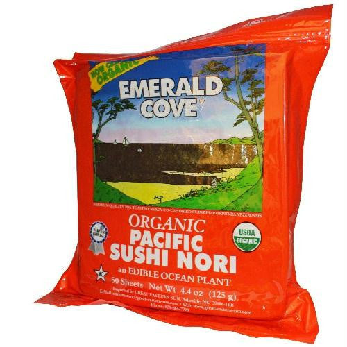 Emerald Cove Sushi Nori Toasted (4x50 Sht) - Rhea Manor Natural Market