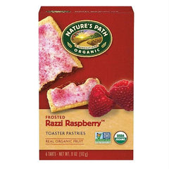 Nature's Path Frosted Raspberry Toaster Pastry (12x11 Oz) - Rhea Manor Natural Market