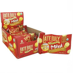 Late July Mini Peanut Butter Sandwich Cracker (4x8x1.125z) - Rhea Manor Natural Market