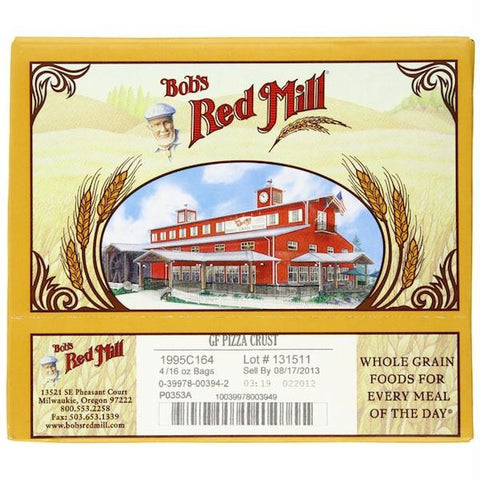 Bob's Red Mill Pizza Crust Mix Gluten Free (4x16 Oz)