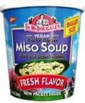 Dr. Mcdougall's Miso Big Soup Cup (6x1.9 Oz) - Rhea Manor Natural Market