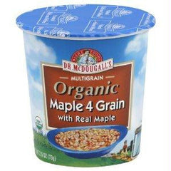Dr. Mcdougall's Maple 4 Grain Hot Cereal Cup (6x2.5 Oz) - Rhea Manor Natural Market