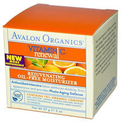 Avalon Vitamin C Rejuvenating Oil Free Moisturizer (1x2 Oz) - Rhea Manor Natural Market