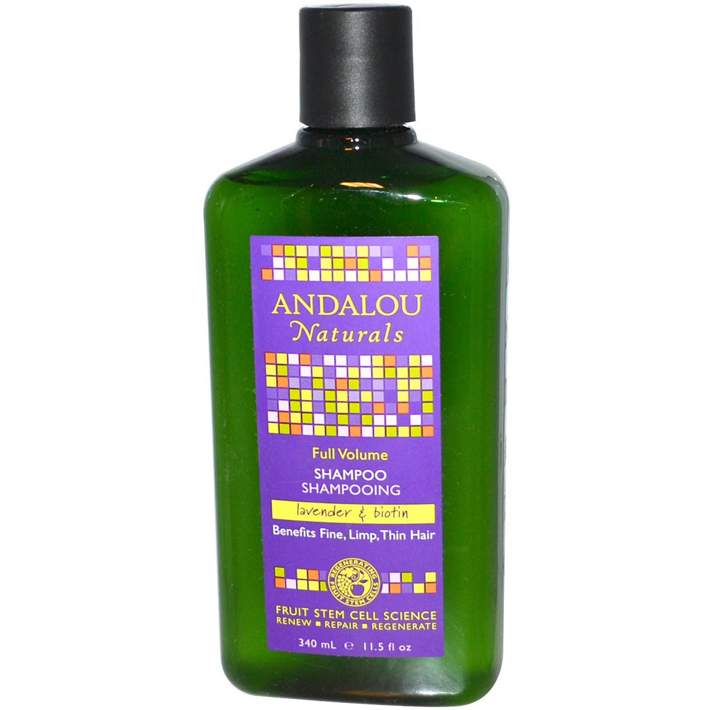 Andalou Naturals Full Volume Lavender & Biotin Conditioner (1x11.5 Oz) - Rhea Manor Natural Market