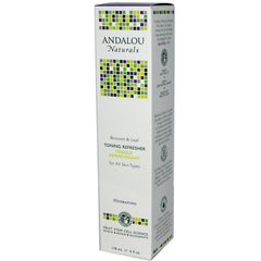Andalou Naturals Blossom & Leaf Toning Refresher (1x6 Oz) - Rhea Manor Natural Market