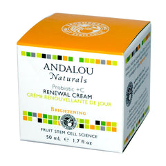 Andalou Naturals Probiotic + C Renewal Cream (1x1.7 Oz) - Rhea Manor Natural Market
