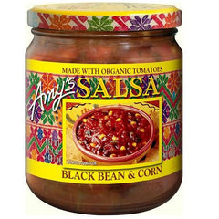Amy's Kitchen Black Bean & Corn Salsa (6x14.7 Oz) - Rhea Manor Natural Market