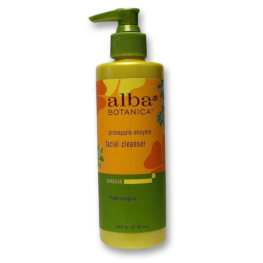 Alba Botanica Pineapple Enzyme Facial Cleanser (1x8 Oz) - Rhea Manor Natural Market