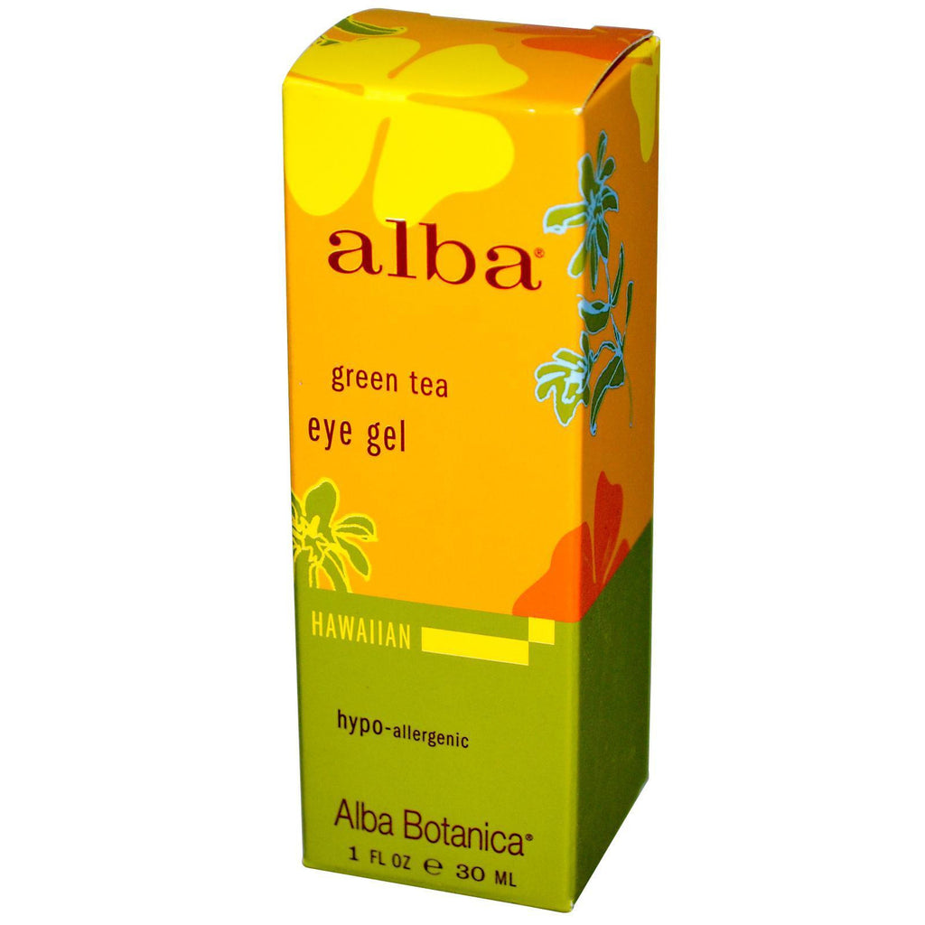 Alba Botanica Green Tea Eye Gel (1x1 Oz) - Rhea Manor Natural Market
