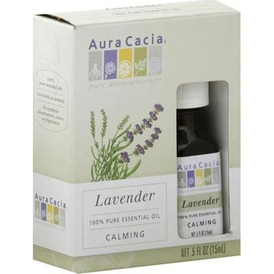 Aura Cacia Lavender Essential Oil (1x0.25oz) - Rhea Manor Natural Market