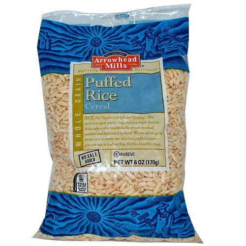 Arrowhead Mills Puffed Brown Rice Cereal (12x6 Oz) - Rhea Manor Natural Market
