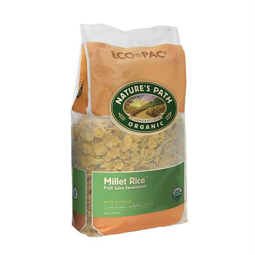 Nature's Path Millet Rice Flake Cereal (6x32 Oz) - Rhea Manor Natural Market