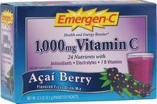 Alacer Emergen-c Bluberry Acai (30 Ct) - Rhea Manor Natural Market