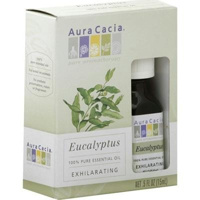 Aura Cacia Eucalyptus Essential Oil (1x0.5oz) - Rhea Manor Natural Market