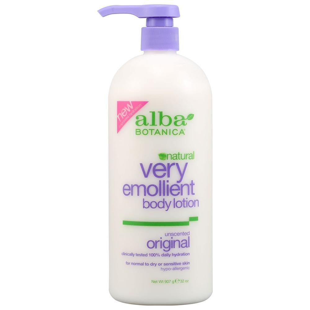 Alba Botanica Very Emollient Unscented Body Lotion (1x12 Oz) - Rhea Manor Natural Market